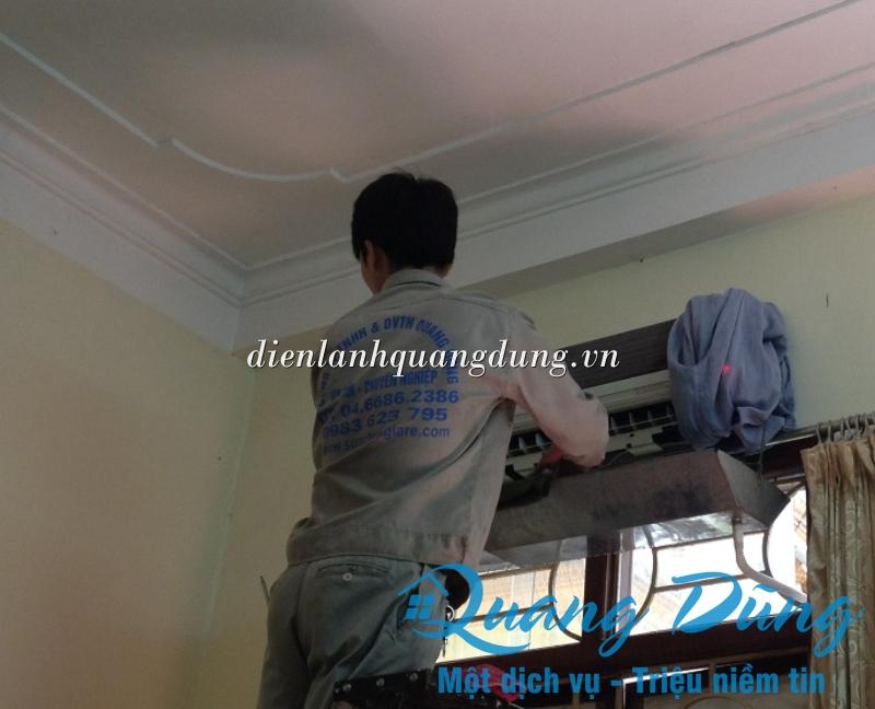 dịch vụ vệ sinh điều hòa quang dũng