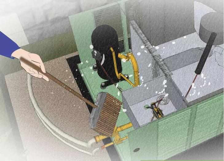 cách vệ sinh những cuộn dây điều hòa