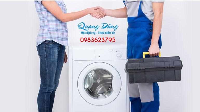 bảo dưỡng máy giặt electrolux quang dũng