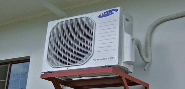 cách vệ sinh cục nóng điều hòa